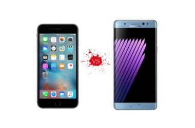 iPhone 7 vs Note 7